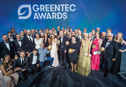 Gruppenfoto GREENTEC Awards (Foto)